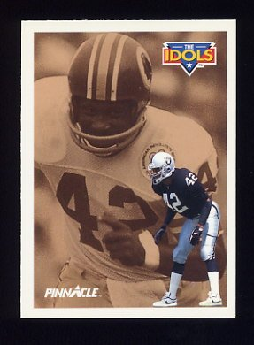1991 Pinnacle Football #381 The Idols Ronnie Lott / Charley Taylor