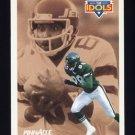 1991 Pinnacle Football #380 The Idols Al Toon / Wesley Walker