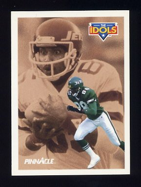 1991 Pinnacle Football #380 The Idols Al Toon / Wesley Walker