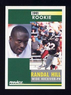 1991 Pinnacle Football #335 Randal Hill RC - Phoenix Cardinals