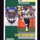 1991 Pinnacle Football #326 Eric Bieniemy RC - San Diego Chargers