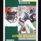 1991 Pinnacle Football #289 Alfred Williams RC - Cincinnati Bengals