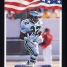 1992 All World Football #255 Vai Sikahema - Philadelphia Eagles