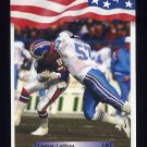 1992 All World Football #253 Lamar Lathon - Houston Oilers