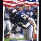 1992 All World Football #204 Henry Thomas - Minnesota Vikings