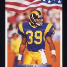 1992 All World Football #162 Robert Delpino - Los Angeles Rams
