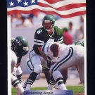 1992 All World Football #160 Browning Nagle - New York Jets