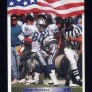 1992 All World Football #156 Brett Perriman - Detroit Lions