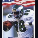 1992 All World Football #129 Keith Jackson - Philadelphia Eagles
