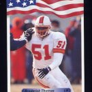 1992 All World Football #072 Broderick Thomas - Tampa Bay Buccaneers