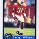 1992 Classic Football #62 Darryl Williams - Cincinnati Bengals