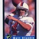 1992 Classic Football #41 Matt Blundin - Kansas City Chiefs