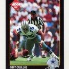 1992 Collector's Edge Football #182 Tony Casillas - Dallas Cowboys