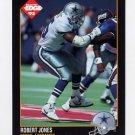 1992 Collector's Edge Football #178 Robert Jones RC - Dallas Cowboys