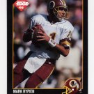 1992 Collector's Edge Football #170 Mark Rypien - Washington Redskins