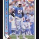 1992 Pacific Football #437 William Fuller - Houston Oilers
