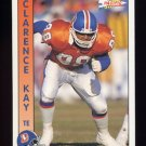 1992 Pacific Football #404 Clarence Kay - Denver Broncos