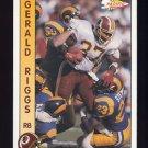 1992 Pacific Football #316 Gerald Riggs - Washington Redskins