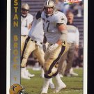 1992 Pacific Football #206 Stan Brock - New Orleans Saints