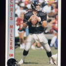 1992 Pacific Football #008 Chris Miller - Atlanta Falcons