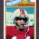 1977 Topps Football #165 Steve Grogan - New England Patriots Vg