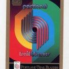 1990-91 Skybox Basketball #349 The Portland Trail Blazers Team Checklist