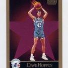 1990-91 Skybox Basketball #031 Dave Hoppen - Charlotte Hornets