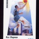1991-92 Skybox Basketball #578 Rex Chapman - Charlotte Hornets