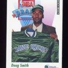 1991-92 Skybox Basketball #518 Doug Smith RC - Dallas Mavericks