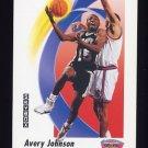 1991-92 Skybox Basketball #259 Avery Johnson - San Antonio Spurs
