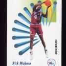 1991-92 Skybox Basketball #217 Rick Mahorn - Philadelphia 76ers