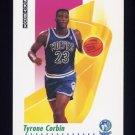 1991-92 Skybox Basketball #169 Tyrone Corbin - Minnesota Timberwolves