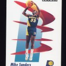 1991-92 Skybox Basketball #116 Mike Sanders - Indiana Pacers