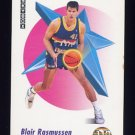 1991-92 Skybox Basketball #074 Blair Rasmussen - Denver Nuggets Ex