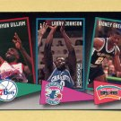 1992-93 Skybox Basketball School Ties #ST14 Armon Gilliam / Larry Johnson / Sidney Green