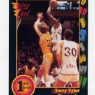 1991-92 Wildcard Basketball #108 Terry Tyler - Detroit Ex