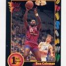 1991-92 Wildcard Basketball #101 Ben Coleman - Maryland Ex