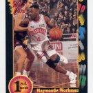 1991-92 Wildcard Basketball #078 Haywoode Workman - Oral Roberts Ex