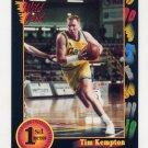1991-92 Wildcard Basketball #073 Tim Kempton - Notre Dame Ex