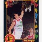1991-92 Wildcard Basketball #052 Jay Murphy - Boston College Ex