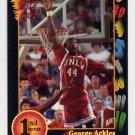 1991-92 Wildcard Basketball #025 George Ackles - UNLV Ex