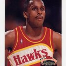 1992-93 Stadium Club Basketball #142 Rodney Monroe - Atlanta Hawks