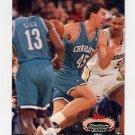 1992-93 Stadium Club Basketball #094 Eric Leckner - Charlotte Hornets