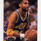 1992-93 Stadium Club Basketball #090 Jeff Malone - Utah Jazz