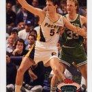 1992-93 Stadium Club Basketball #024 Greg Dreiling - Indiana Pacers