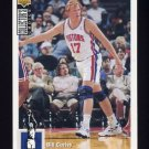 1994-95 Collector's Choice Basketball #337 Bill Curley RC - Detroit Pistons