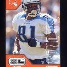 2002 Upper Deck XL Football #465 Chris Sanders - Cleveland Browns