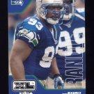 2002 Upper Deck XL Football #419 John Randle - Seattle Seahawks