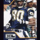 2002 Upper Deck XL Football #377 Curtis Conway - San Diego Chargers