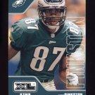 2002 Upper Deck XL Football #359 Todd Pinkston - Philadelphia Eagles